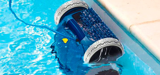 Accesorios piscinas limpiafondos automático