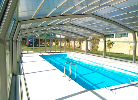 Cubiertas moviles para piscinas