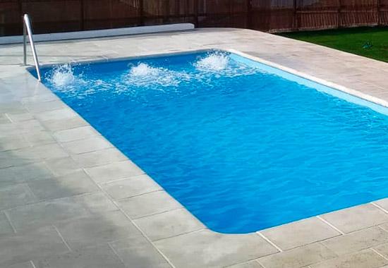 Fiberglas piscinas rectangulares f4