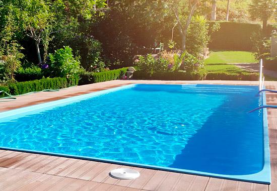 Fiberglas piscinas rectangulres F5