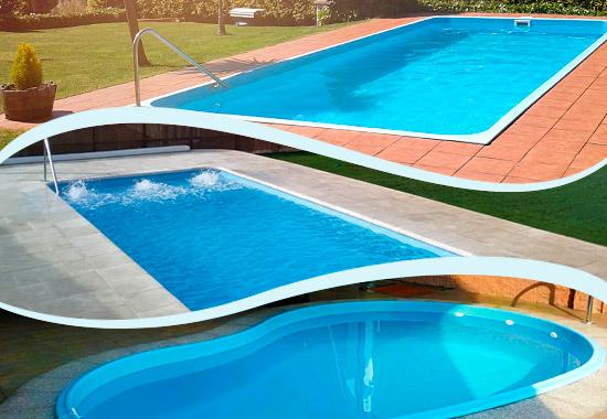 Fiberglas piscinas de fibra